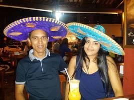 Primeira vez que fomos no restaurante de comida mexicana, foi muito especial!! Em 2014