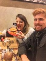 Fazendo uma das coisas que mais gostamos em São Paulo: comer!!!