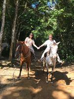 Primeira vez em Penedo e primeira cavalgada juntos!