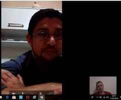 Nossas conversas de vídeo através do zap duravam entorno de 3 horas.
