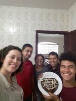 Conhecendo os novos amigos em São Carlos, uma família abençoada que abriu as portas da sua casa para nos receber e abençoar nossa união. Presbítero Josué e Família.