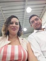Cultuando a Deus pela primeira vez juntos na sede da Assembléia de Deus em São Carlos.