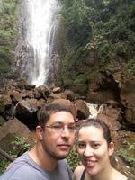 Cachoeira do Martelo em Brotas. Queda d'água com 40 metros de altura.