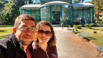 Conhecendo a linda cidade imperial, Petrópolis - RJ. (Palácio de Cristal ao fundo)