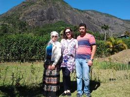 A sogra conhecendo o genro em Petrópolis - RJ.