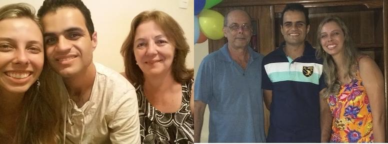 Maria Luiza e Luiz Carlos (Pais Lílian)